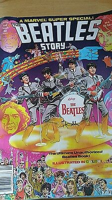 The Beatles Story Marvel Super Special