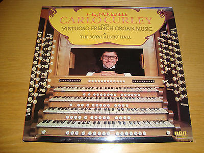 "CARLO CURLEY ""PLAYS VIRTUOSO FRENCH ORGAN MUSIC..""- LP RCA 1979 UK 1st press/ NM"
