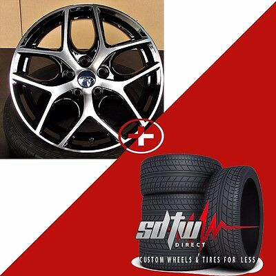 """17"""" Ford Focus Style Wheels Rims  w/ Tires fits Ford Fusion Focus 5x108"""