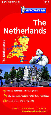 The Netherlands National Map 715 by Michelin