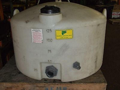 Heavy Duty Poly Tank 125 Gallon Container Storage