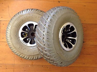 Pride Legend Classic Wheels and Tyres 3.00 - 4 Back Pair