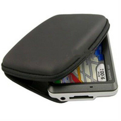 Hard Shell GPS Carry Case Bag Zipper Pouch Cover For 5Inch Sat Nav  TSUS