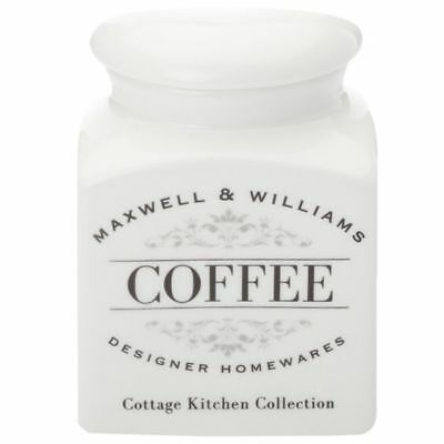 NEW Maxwell & Williams Cottage Kitchen Coffee Canister