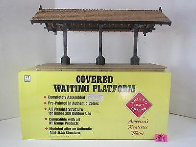 Aristocraft G Scale Covered Waiting Platform Art-7105 Very Good O.b.