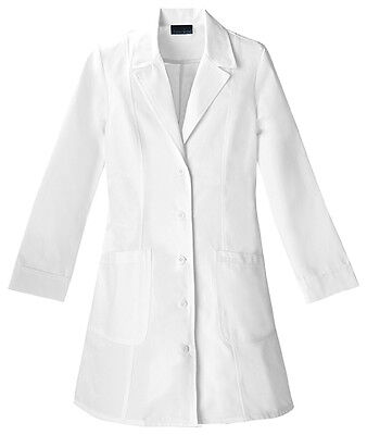 "Cherokee 36"" Lab Coat 2410 WHT White Free Shipping"