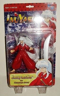 INUYASHA ACTION FIGURE ~ SERIES 1 ~ Adult Swim Cartoon Network  2004  NEW