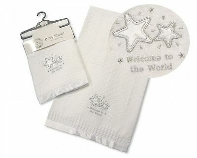 baby  shawl-welcome to the world