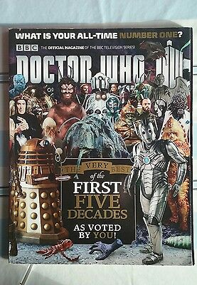 Doctor Who Magazine DWM 474 the very best of the first five decades