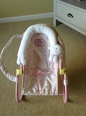 Baby Annabel Pink Chair Baby Seat