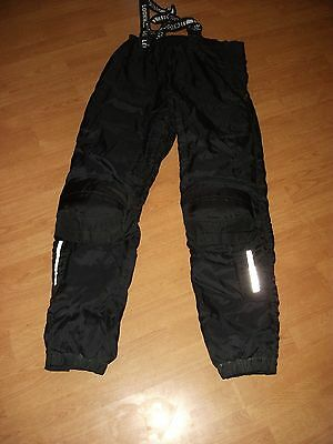 "LOCKWELL MOTORCYCLE MOTORBIKE TROUSERS WITH BRACES WAIST  40"" x LEG 33"""