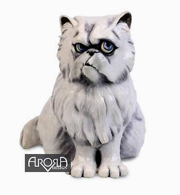pets with personality figurine, FLUFFY THE CAT
