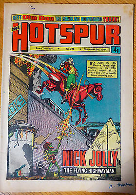 The Hotspur (UK Comic) - Issue #786 (9th November 1974)