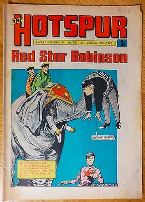 The Hotspur (UK Comic) - Issue #741 (29th December 1973)