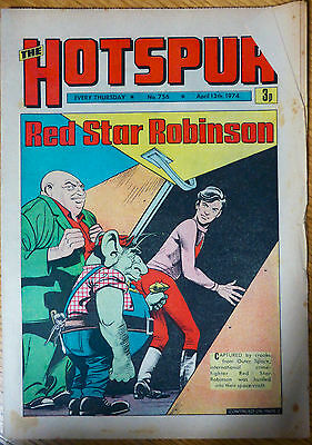 The Hotspur (UK Comic) - Issue #756 (13th April 1974)