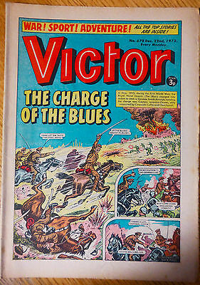 The Victor (UK Comic) - Issue #670 (22nd December 1973)