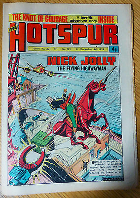 The Hotspur (UK Comic) - Issue #791 (14th December 1974)