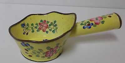 Antique Bronze  Chinese Ritual Vessel Clothes Iron Enamel not Cloissone