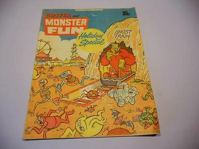 Buster & Monster Fun Holiday Special Comic, Fleetway 1978 - Decent/Good