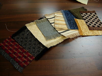 1 /12Th Scale Dolls House Handmade Job Lot Of 10 Rugs Mixed  Colours And Sizes