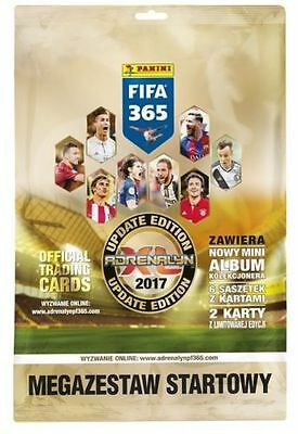 MEGA STARTER PACK FIFA 365 2017 Panini Adrenalyn XL UPDATE EDITION