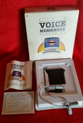 Currah Voice Messenger Speech 64 Synthesizer Commodore 64 C64 Complete!