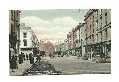 IRELAND : Co KERRY : TRALEE : THE MALL - OLD POSTCARD