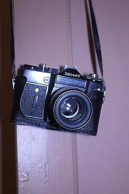 Vintage Russian Camera Zenit 11 with Case