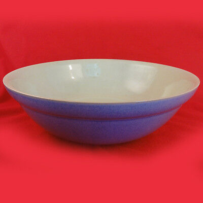 """JUICE - BERRY BLUE Denby CEREAL BOWL 7"""" diameter NEW NEVER USED Made in England"""