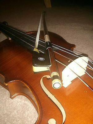 "Otto Jos. Klier (W German) 16"" inch VIOLA, bow, shoulder rest and case"