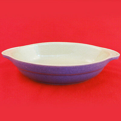 "JUICE - BERRY BLUE Denby AUGRATIN DISH 9"" long NEW NEVER USED Made in England"