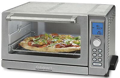 NEW Cuisinart Stainless Steel Deluxe Convection Toaster Oven Broiler TOB-135N
