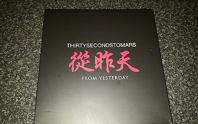 RARE!! 30 SECONDS TO MARS limited addition from yesterday boxed bundle