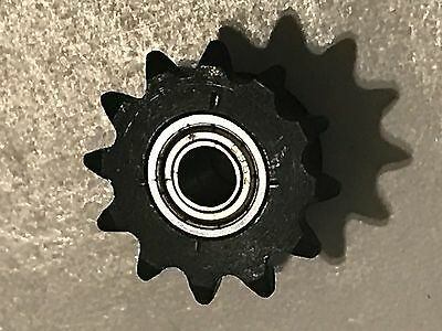 #25 Roller Chain SPROCKET IDLER Twin Bearing 12 tooth bore 5.85 mm