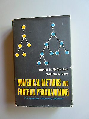 Numerical Methods and Fortran Programming by McCracken -Dorn (HC - DJ Wiley 1964