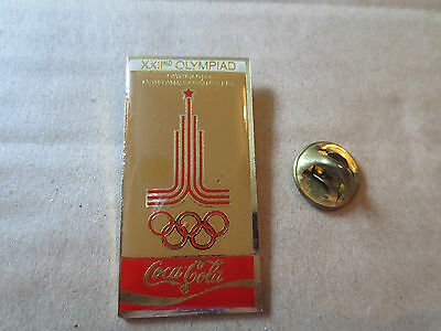 1980 Moscow Summer Olympic Games Pin Badge - Russia
