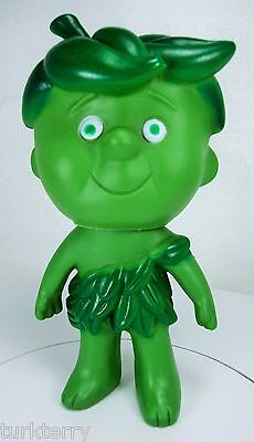 Vtg Little Sprout Jolly Green Giant Vinyl Rubber Doll Toy