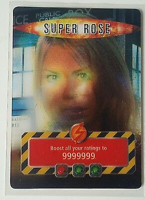 Doctor Who Battles in Time Super Rose Trading Card