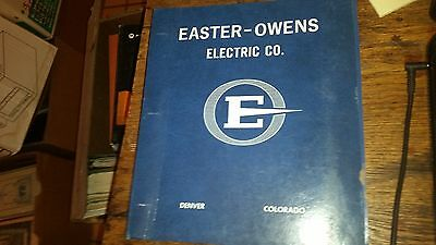 Easter-Owens Electric Co. Catalog 1979