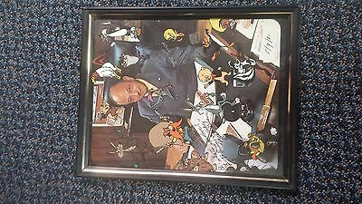 Mel Blanc Autographed Signed Photo Picture Framed