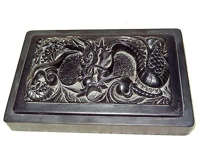 "~LOOK~ Chinese Dragon INK STONE Calligraphy Tool ""SONG DYNASTY"" ??"