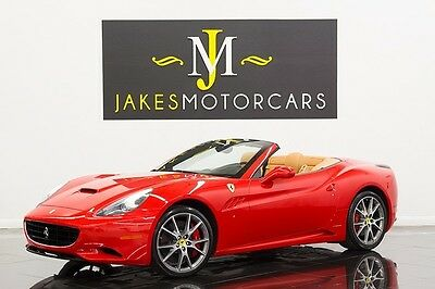 2012 Ferrari California ($236K MSRP) 2012 FERRARI CALIFORNIA, $236K MSRP, RED ON TAN, LOADED WITH OPTIONS!
