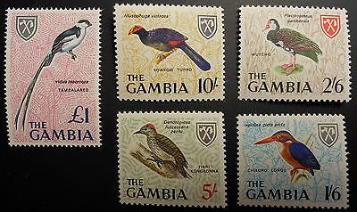 Gambia Scott 215-227 Mint Never Hinged complete set (Lot CUF)