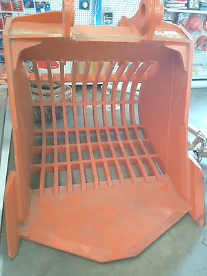 Sieve bucket to suit zaxis/Hitachi zx240