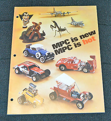 LOADED 1975 MPC Toy catalog brochure model's RACING hot rods muscle cars monster