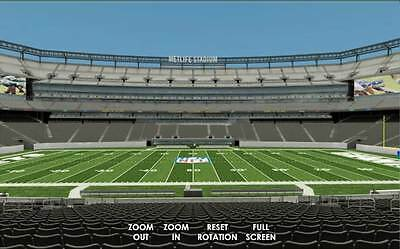 2 NEW YORK Giants PSL s Section 306 321 Row 20 Metlife Stadium NY ... 455ab36f0