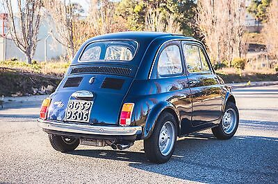 1972 Fiat 500 with Abarth Mods 1972 FIAT 500 Cinquecento with Abarth Mods