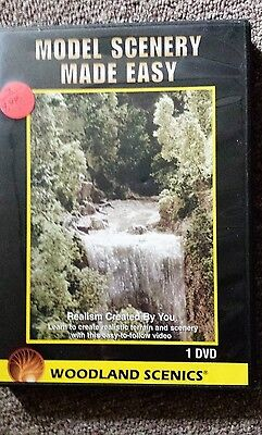 Model Scenery Made Easy~ Woodland Scenics Dvd