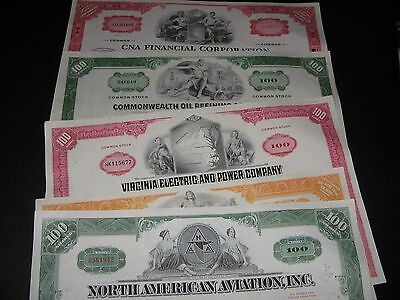 5 Old Stock Certificates Plus 5 Old Baseball Cards