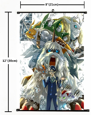 Anime Digimon Adventure Wall Scroll Poster cosplay 1661